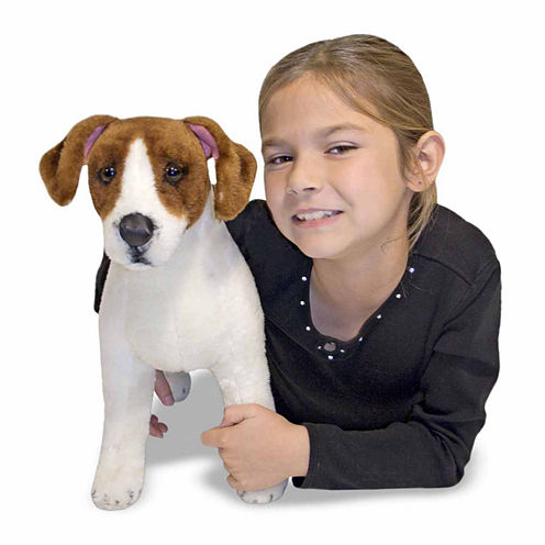 Melissa & Doug® Jack Russell Terrier Plush