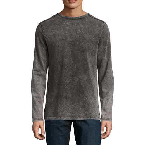 Decree Long Sleeve Crew Neck T-Shirt