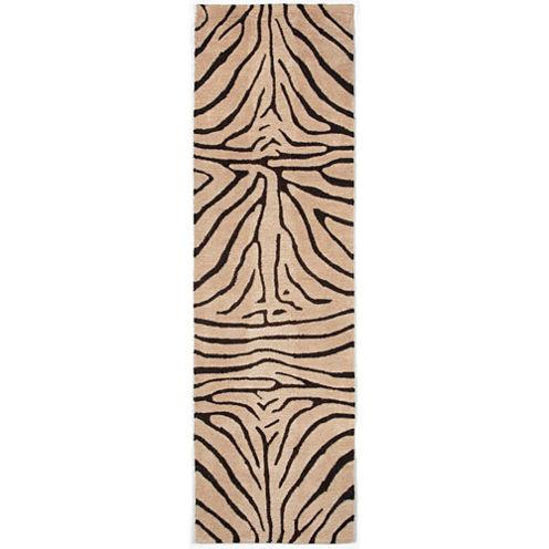 Liora Manne Seville Zebra Hand Tufted Rectangular Runner