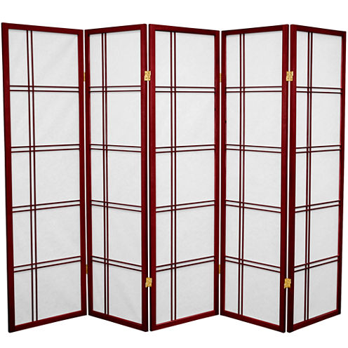 Oriental Furniture 6' State Of Mind Room Divider