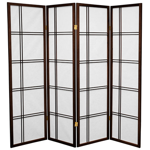 Oriental Furniture 6' New York City Room Divider