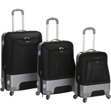 jcpenney.com | Rockland Rome 3-pc. Luggage Set