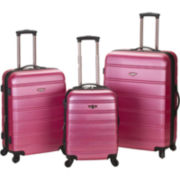 Rockland Melbourne 3-pc. Luggage Set