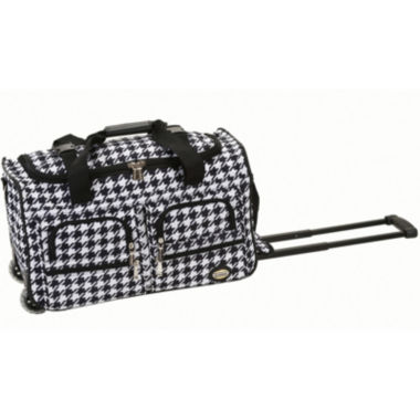 "jcpenney.com | Rockland 22"" Rolling Duffel Bag-Animal Print"