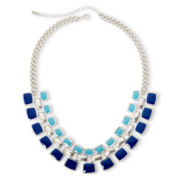Arizona Blue Stone Link Necklace