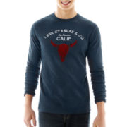 Levi's® Long-Sleeve Graphic Thermal Tee