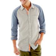 i jeans by Buffalo Marshall Long-Sleeve Woven Shirt