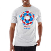 adidas® USA Ball Boom World Cup Tee