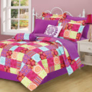 Kendra Patchwork Complete Bedding Set with Sheets