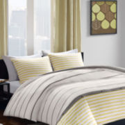 INK+IVY Taylor Striped Comforter Set