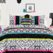 CLOSEOUT! Seventeen® Boho Nikko Damask Comforter Set & Accessories