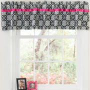 CLOSEOUT! Seventeen® Boho Nikko Tailored Damask Valance