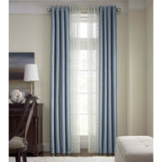 Royal Velvet® Plaza Blackout Lined Grommet-Top Curtain Panel
