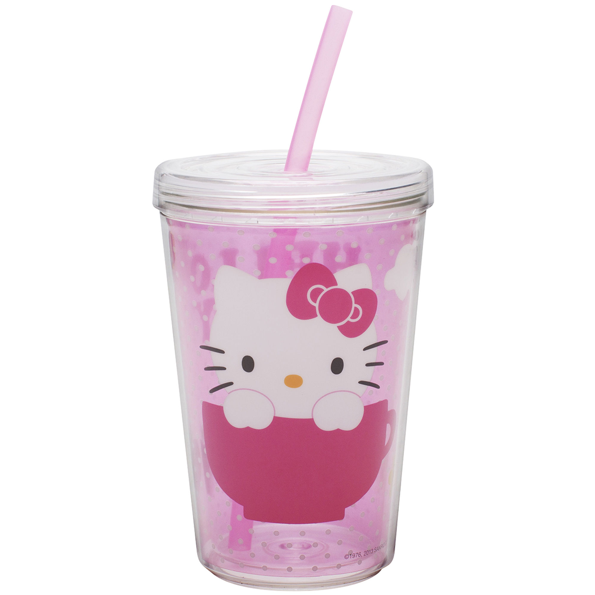 Zak Designs Hello Kitty 13-oz. Tumbler with Straw