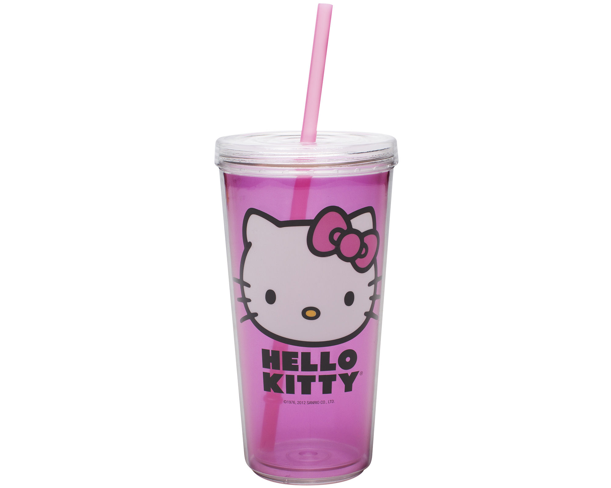 Zak Designs Hello Kitty 16-oz. Tumbler with Straw