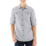 i jeans by Buffalo Roll-Sleeve Shirt
