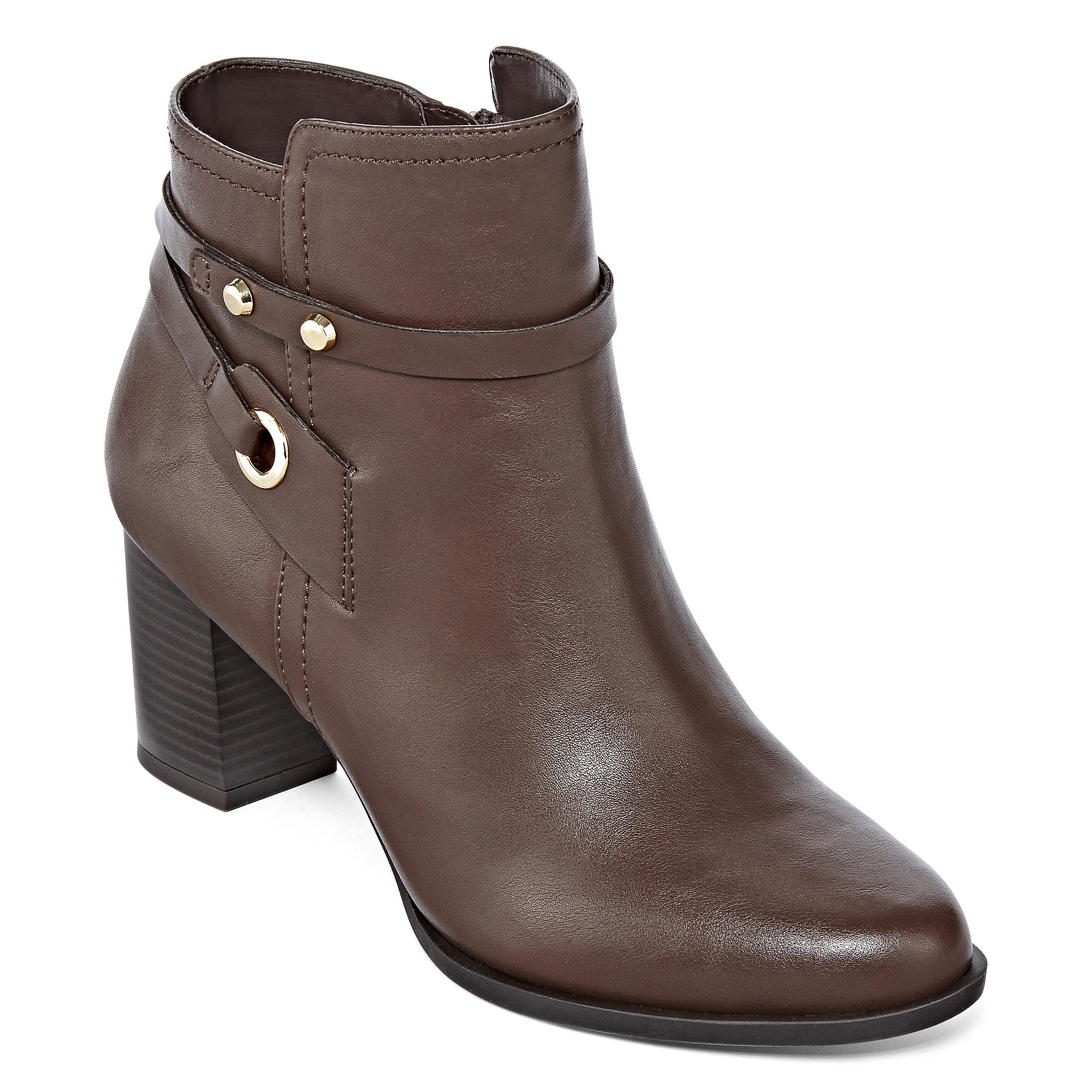 9a10fe99529 UPC 010076010018 - Liz Claiborne Babin Heeled Ankle Booties ...