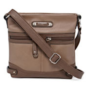 Rosetti® Mini Triple Play Sage Crossbody Bag