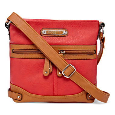 jcpenney.com | Rosetti® Mini Triple Play Sage Crossbody Bag