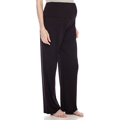 Sleep Chic Maternity Overbelly Pajama Pants