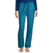 Liz Claiborne® Flannel Pajama Pants - Tall