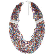 Decree® Layered Beaded Necklace