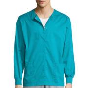 WonderWink® WonderWORK Unisex Snap-Front Jacket - Big & Tall