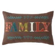 JCPenney Home™ Family Oblong Decorative Pillow