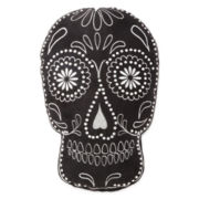 JCPenney Home™ Sugar Skull-Shaped Pillow