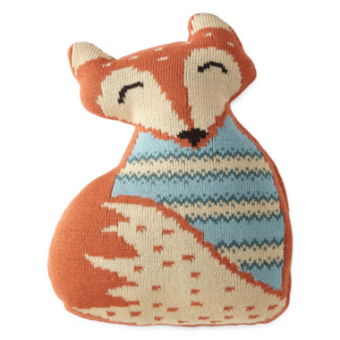 jcpenney.com | JCPenney Home™ Fox-Shaped Pillow