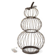 Jcpenney Home™ Led Stacking Pumpkin