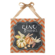 JCPenney Home™ Harvest Wood Wall Sign