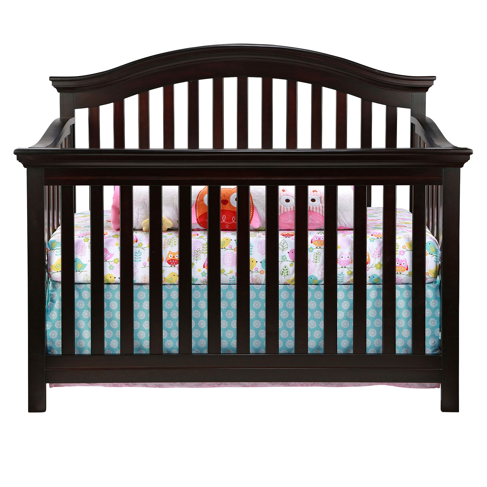 Buy rockland portland convertible crib espresso limited for Best value baby crib