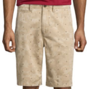 Arizona Flat-Front Shorts