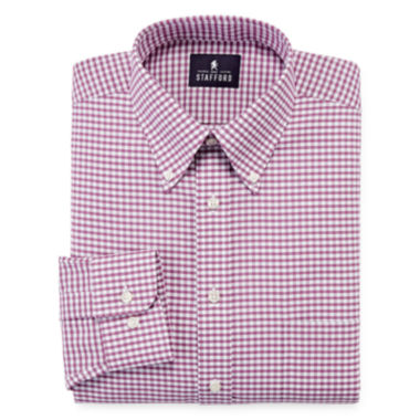 jcpenney.com | Stafford® Travel Wrinkle Free Oxford Dress Shirt