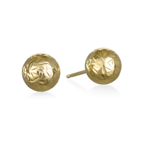 Not Applicable 14K Gold Stud Earrings