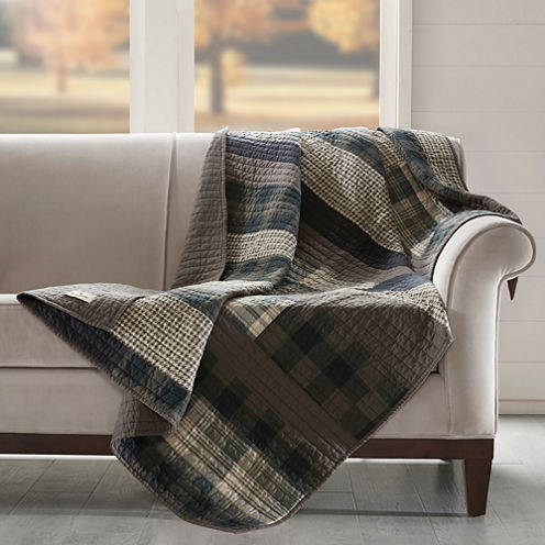 Woolrich Winter Plains Quilted Quilted Throw