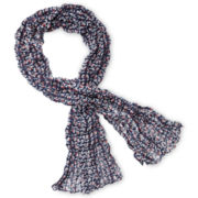 Arizona Bird Crinkle Scarf - Girls