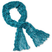 Arizona Heart Crinkle Scarf - Girls