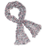 Arizona Floral Crinkle Scarf - Girls