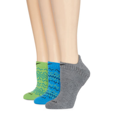 jcpenney.com | Nike® 3-pk. Dri-FIT No-Show Socks