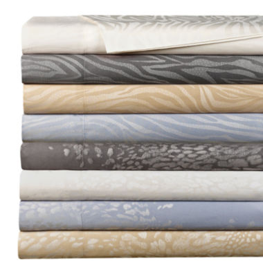 jcpenney.com | Cathay Home 300tc Rayon from Bamboo/Cotton/Polyester Jacquard Sheet Set