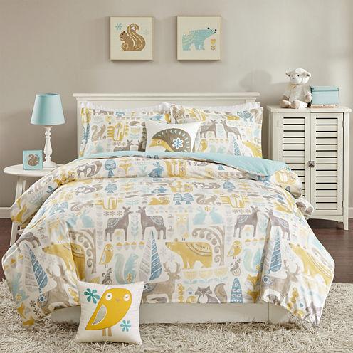 INK+IVY Woodland Comforter Set