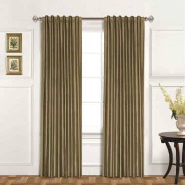 jcpenney.com | United Curtain Co. Dupioni Silk Back-Tab Curtain Panel