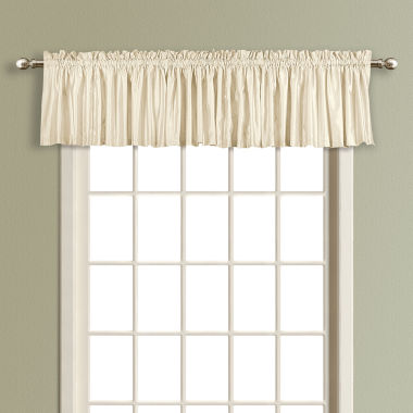 jcpenney.com | Anna Rod-Pocket Straight Lined Valance