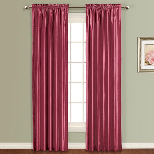United Curtain Co. Anna Rod-Pocket Curtain Panel