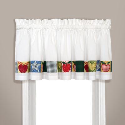United Curtain Co. Appleton Rod-Pocket Straight Valance