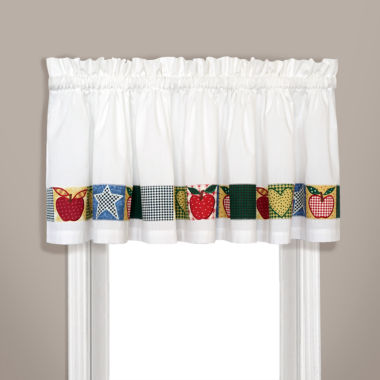 jcpenney.com | United Curtain Co. Appleton Rod-Pocket Straight Valance