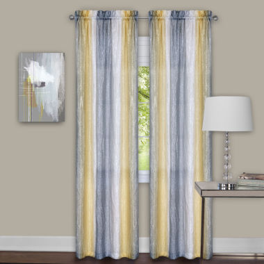 jcpenney.com | Sombre 2-Pack Rod-Pocket Curtain Panel