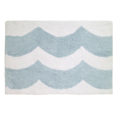 jcpenney.com | Avanti® Blue Wave Bath Rug